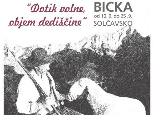 """10. FESTIVAL OVČJE VOLNE """"BICKA"""" NA SOLČAVSKEM"""