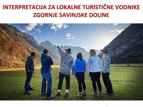 Interpretacija za lokalne turistične vodnike ZGORNJE SAVINJSKE DOLINE